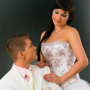 Couple in Wedding Suits_2