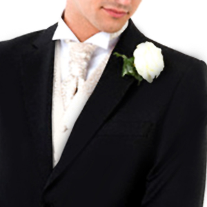 Man in Wedding Suit