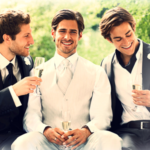 Men in Custom Wedding Suits